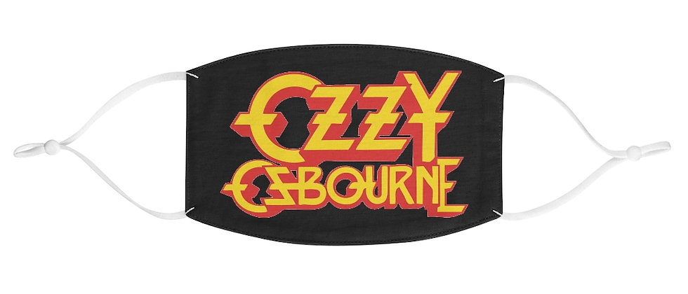 Ozzy Osbourne Fabric Face Mask