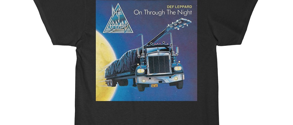 Def Leppard On Through The Night Short Sleeve Tee