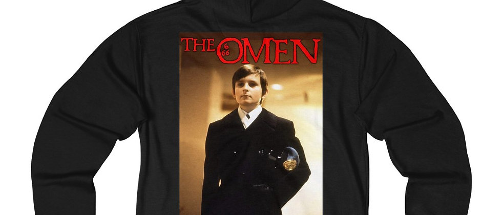 Damian The Omen 2  Unisex French Terry Zip Hoodie