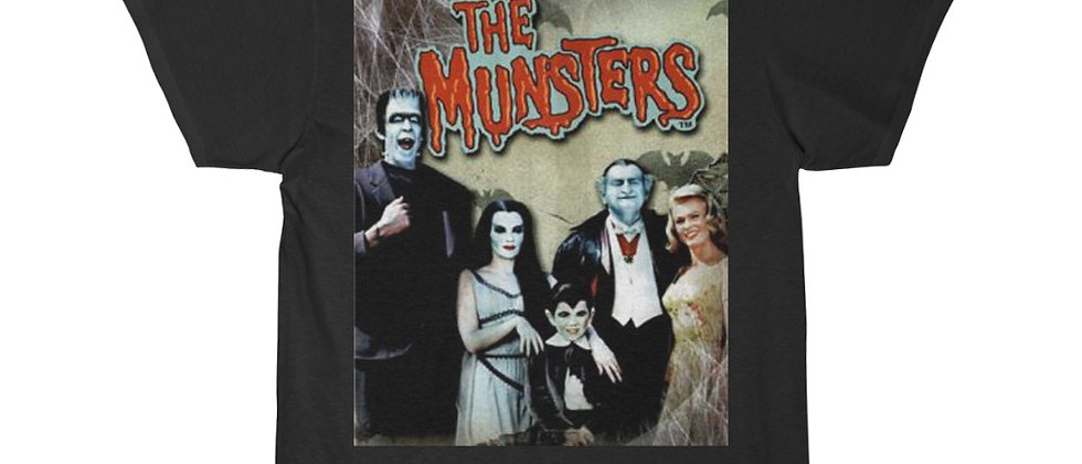 MUNSTERS cast Short Sleeve Tee
