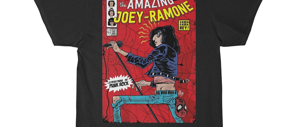 The Amazing Joey Ramone of The Ramones Men's Short Sleeve T Shirt