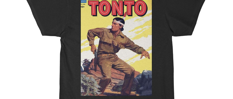 The Lone Ranger TONTO Magazine  Men's Short Sleeve Tee
