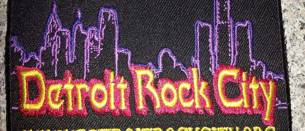 Detroit Rock City Patch #2