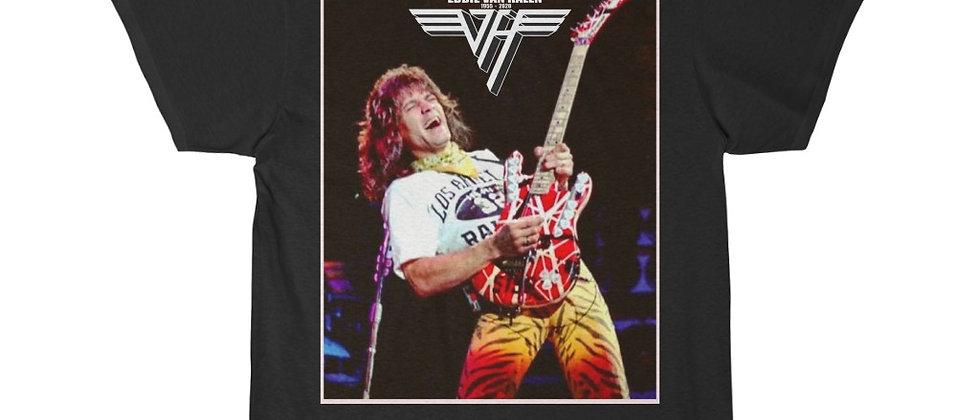 Eddie Van Halen Live 1955 - 2020 Men's Short Sleeve Tee