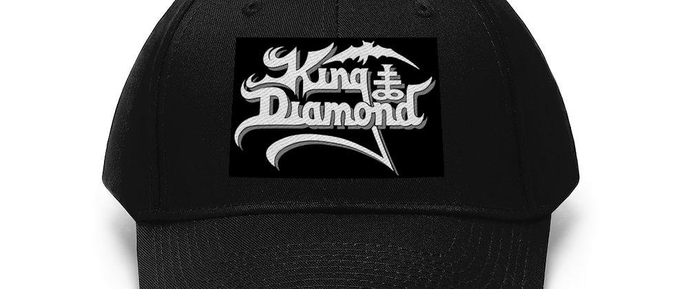 KING DIAMOND Unisex Twill Hat