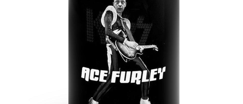 ACE FURLEY Black mug 11oz