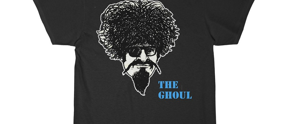 the Ghoul with blue logo Men's Short Sleeve T Shirt