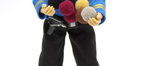 MEGO Star Trek Spock with Tribbles Action Figure