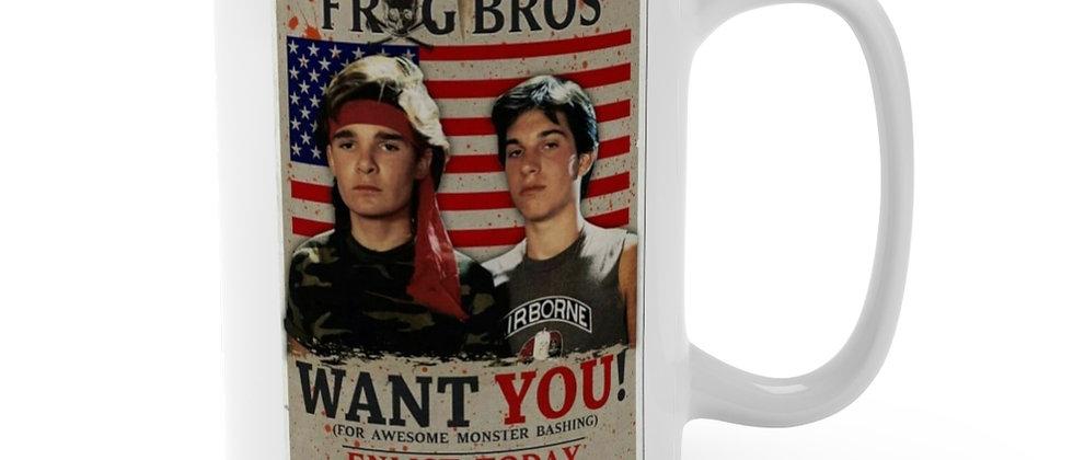 The Frog Bros of The Lost Boys  Mug 15oz