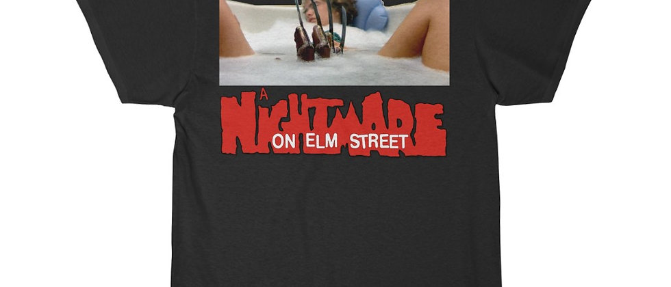 A Nightmare On Elm St Tub Scene Short Sleeve Tee