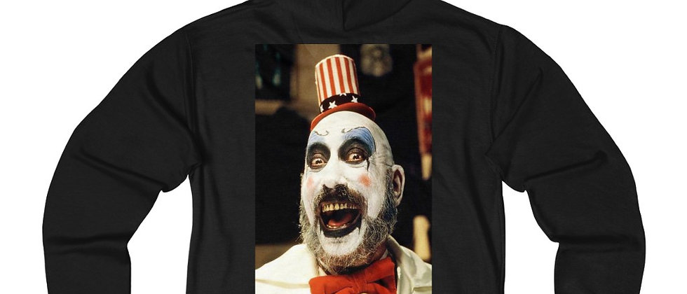 Captain Spaulding House of 1000 Corpses Unisex French Terry Zip Hoodie