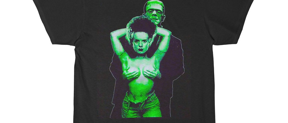 Frankenstein and his Bride Short Sleeve Tee