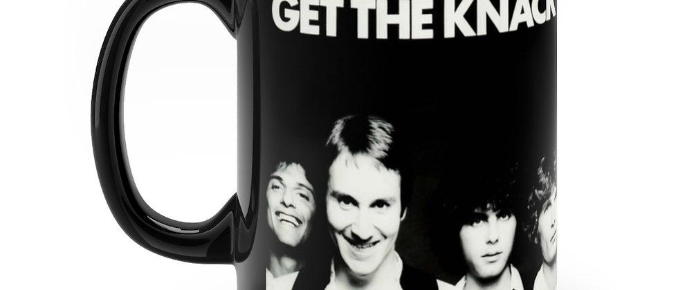 The Knack Get The Knack Black mug 11oz