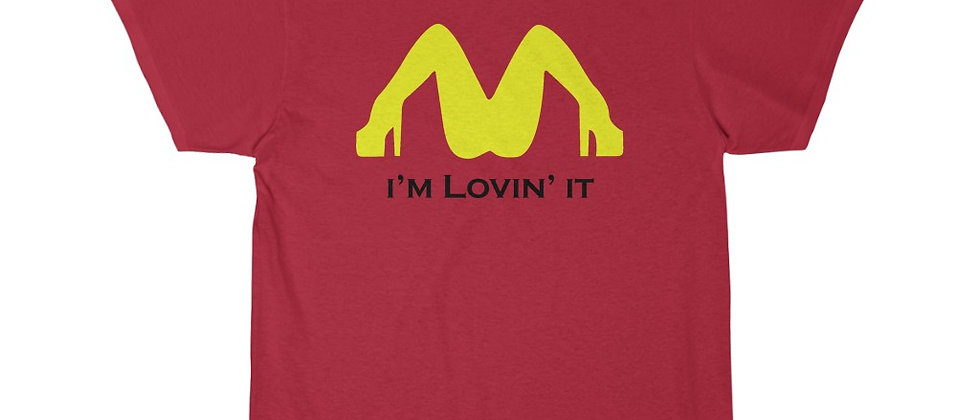 I'm Lovin it 2blk  Short Sleeve Tee