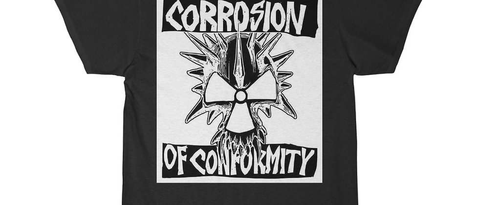 Corrosion Of Conformity  white n black Short Sleeve Tee