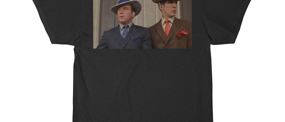 STAR TREK TOS Piece of the Action Kirk and Spock Men's Short Sleeve Tee