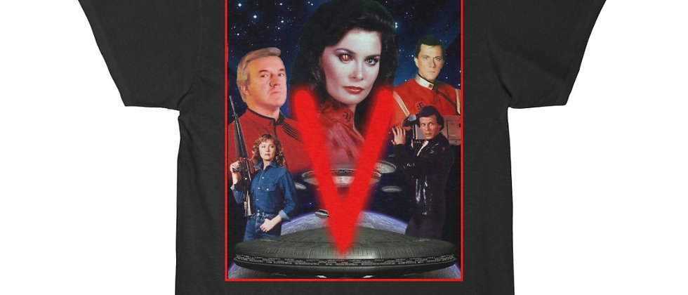 V for Visitors the 80s tv series Cast Alien invasion Short Sleeve Tee