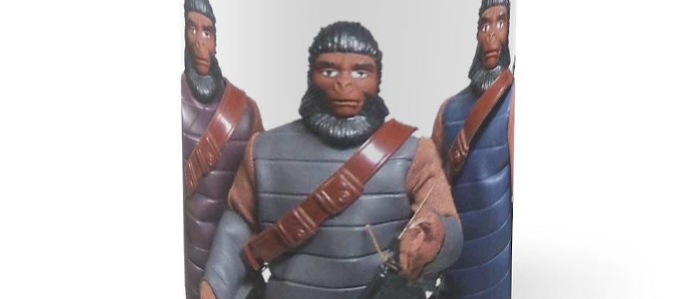 Planet Of The Apes  Mego Action Figures  Mug 11oz