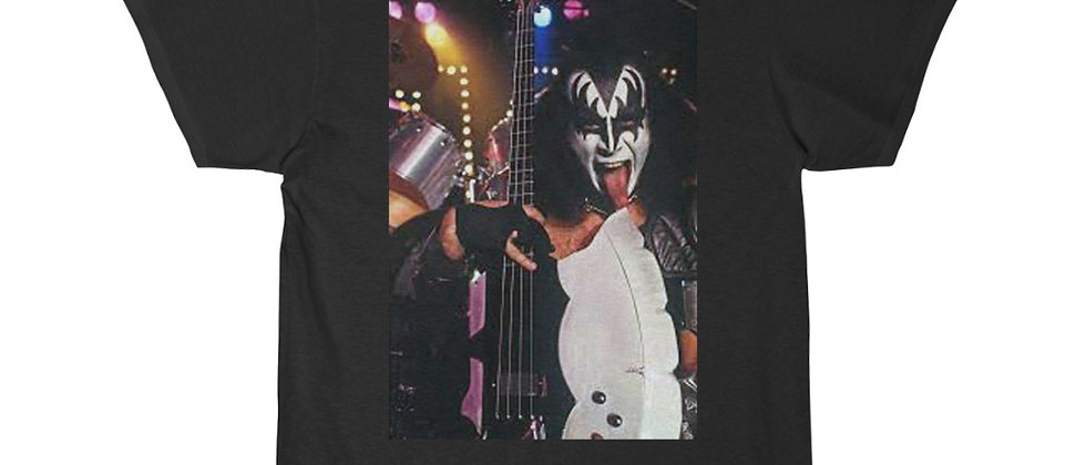 KISS, PAUL STANLEY, T SHIRT, GENE SIMMONS, ACE FREHLEY, PETER CRISS, END OF THE ROAD