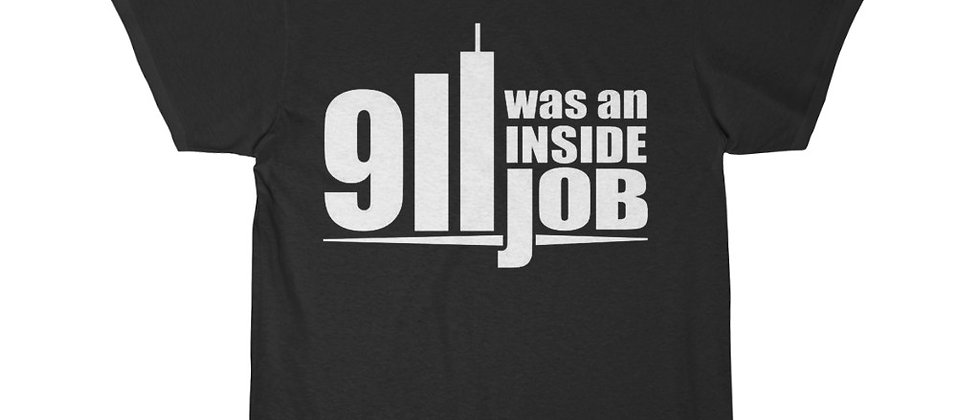 September to Remember 911 Was An inside Job  Men's Short Sleeve Tee