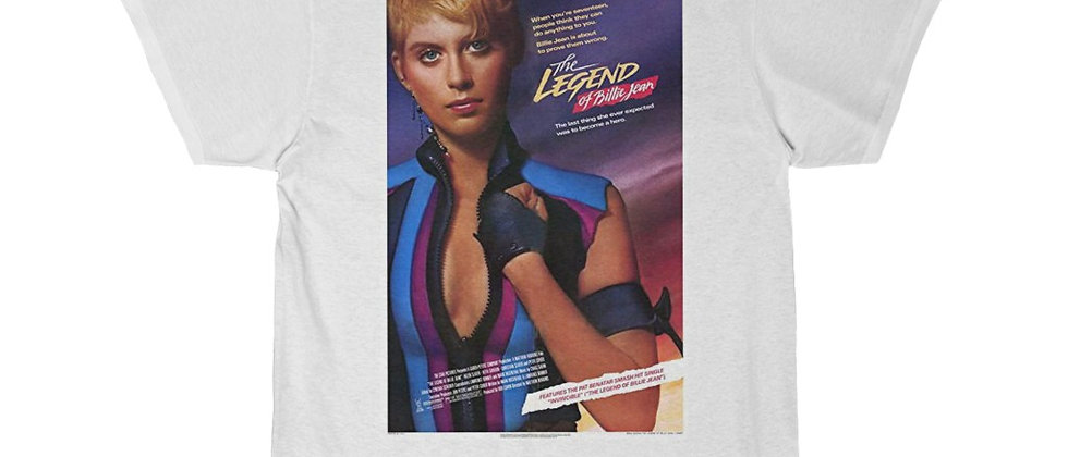 Legend Of Billie Jean Movie Poster  Men's Short Sleeve Tee