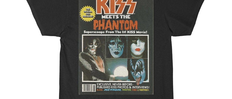 KISS PHANTOM Magazine Men's Short Sleeve Tee