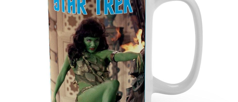 STAR TREK Veena Slave Girl Mug 15oz