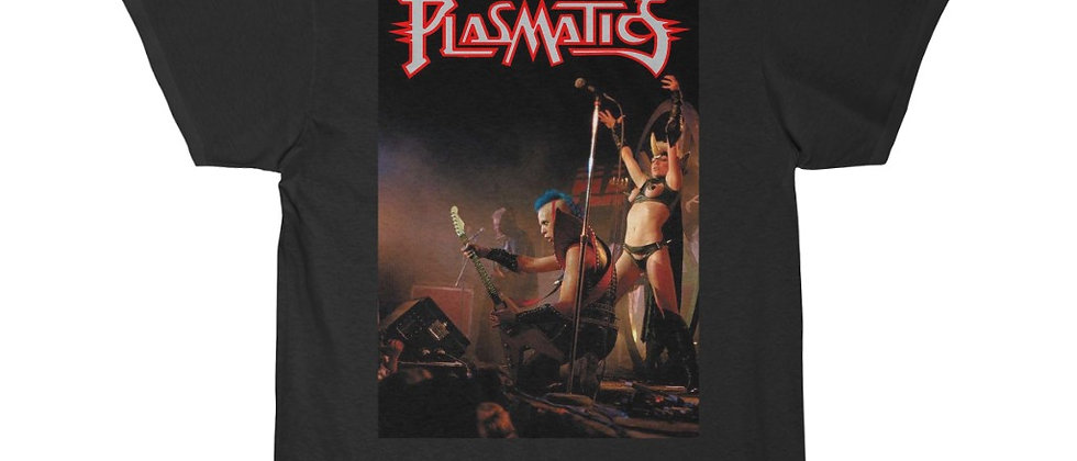 PLASMATICS LIVE 1982 Men's Short Sleeve Tee