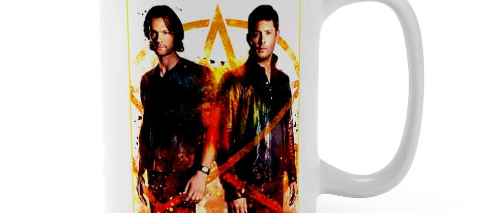 Supernatural Sam & Dean Winchester  Mug 15oz