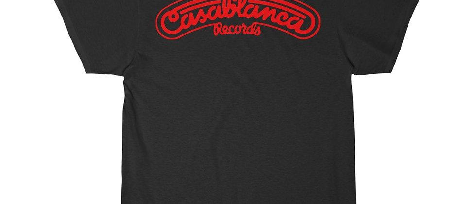Casablanca Records Logo Short Sleeve Tee
