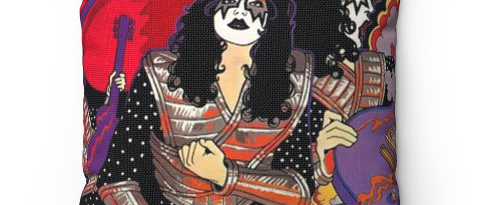 KISS, ACE FREHLEY, SOLO POSTER, PILLOW, END OF THE ROAD