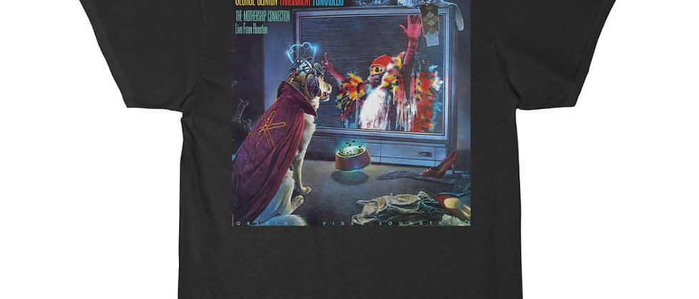 PARLIAMENT George Clinton P-Funk live Atomic Dog Men's Short Sleeve Tee
