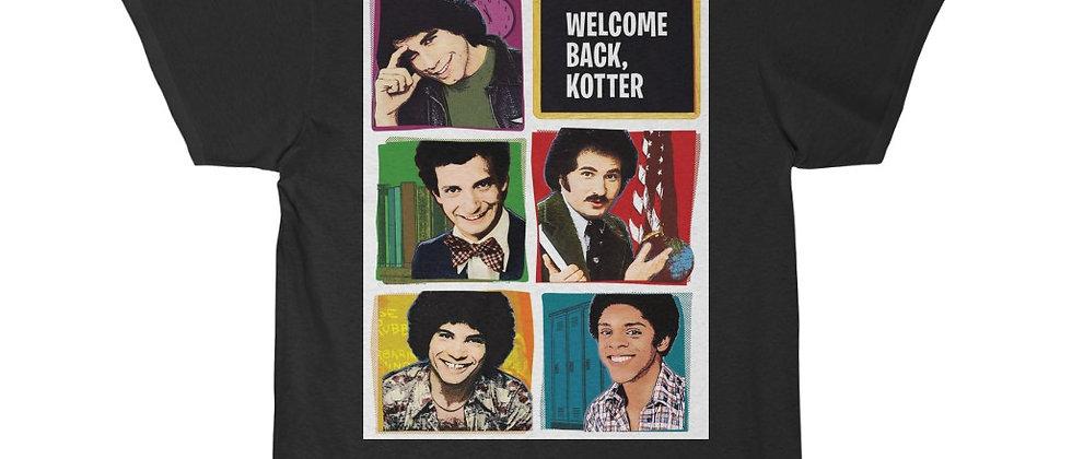 Welcome Back Kotter shot Men's Short Sleeve Tee