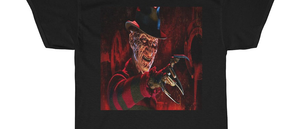 FREDDY From The Movie A Nightmare On Elm St Unisex Heavy Cotton Tee