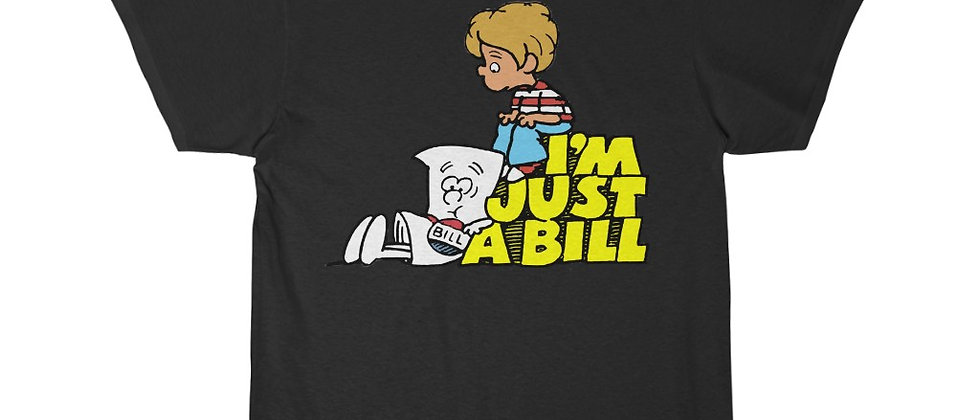 Schoolhouse Rock I'm Just A Bill Short Sleeve Tee