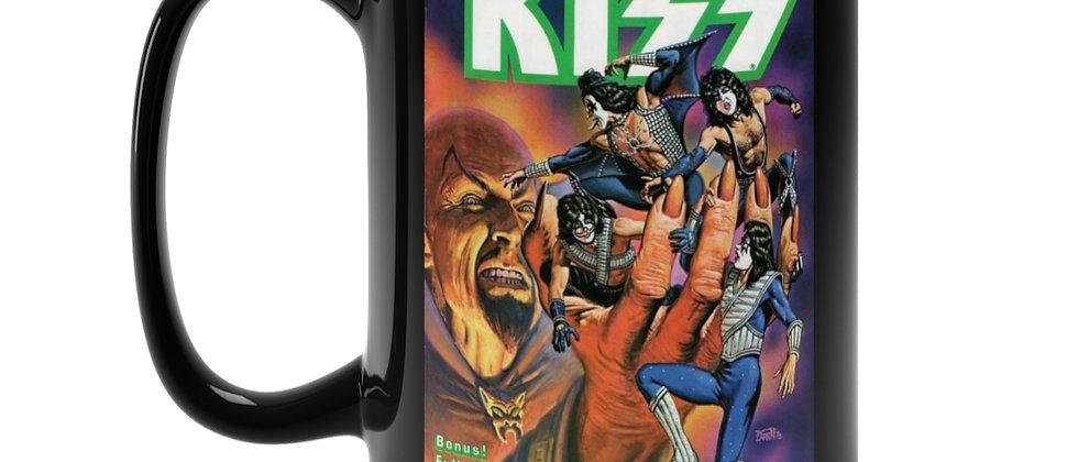 KISS Marvel Comic 2 Black Mug 15oz