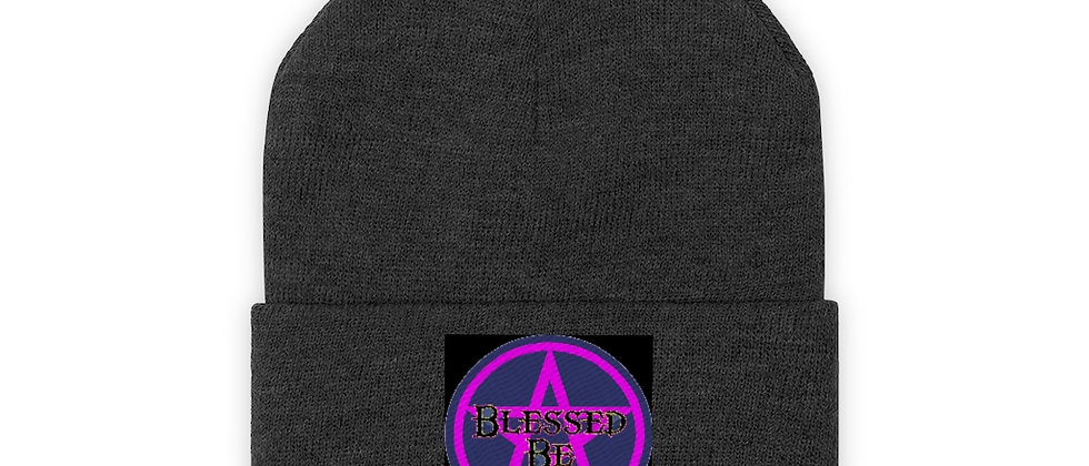 BLESSED BE  Knit Beanie
