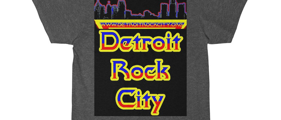 DETROIT ROCK CITY .org Groovy Logo Men's Short Sleeve Tee