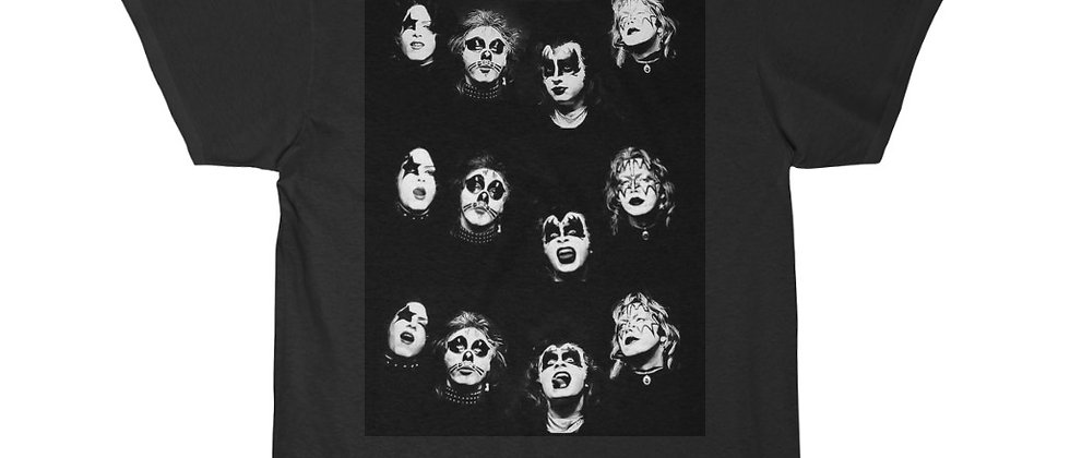 KISS, PAUL STANLEY, IBANEZ ICEMAN, T SHIRT, GENE SIMMONS, ACE FREHLEY, PETER CRISS, END OF THE ROAD
