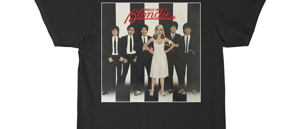 BLONDIE Parallel Lines Short Sleeve Tee
