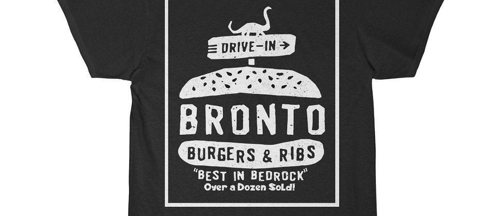 FLINTSTONES Bronto Burger Short Sleeve Tee