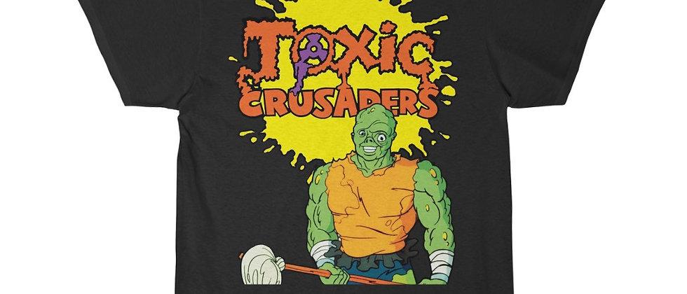 The Toxic Crusaders 80s cartoon Troma Short Sleeve Tee