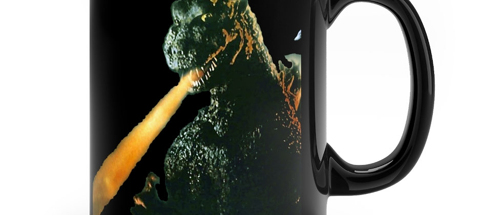 GODZILLA Death Ray Black mug 11oz