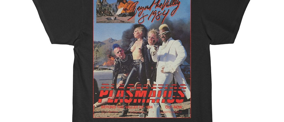 PLASMATICS Beyond the valley of 1984 poster Men's Short Sleeve Tee