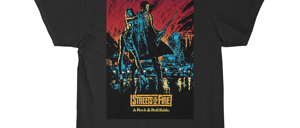 Streets Of Fire Men's Short Sleeve Tee