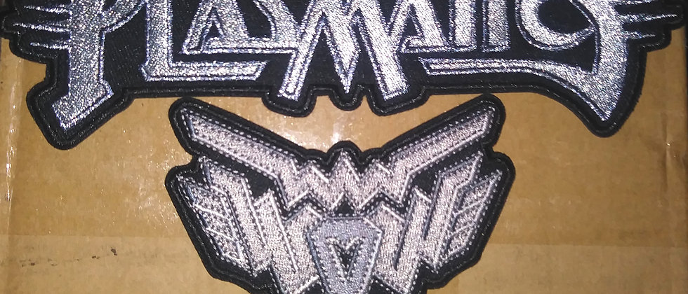 Plasmatics Logo & W.O.W. Logo Patch