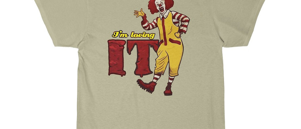 I'm Lovin' IT McDonalds Parody Men's Short Sleeve Tee