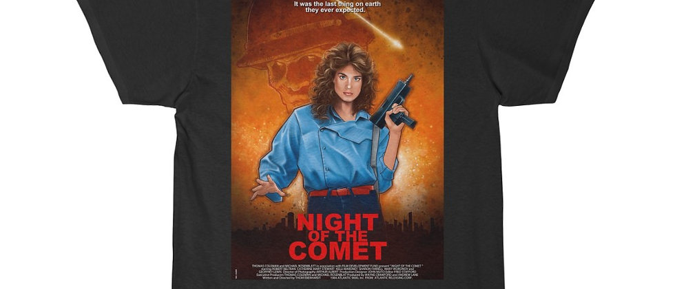 Night Of The Comet Move Poster Men's Short Sleeve Tee