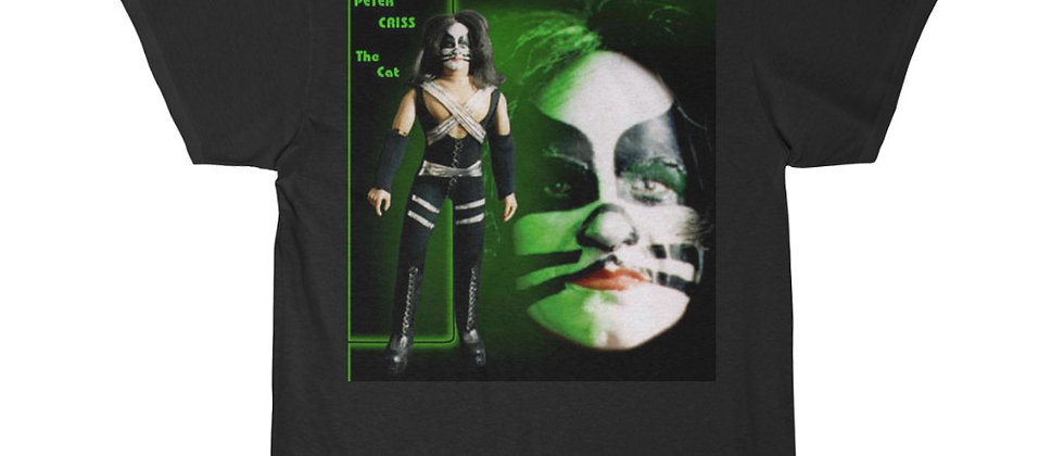 KISS, PAUL STANLEY, T SHIRT, GENE SIMMONS, ACE FREHLEY, PETER CRISS, MEGO, END OF THE ROAD