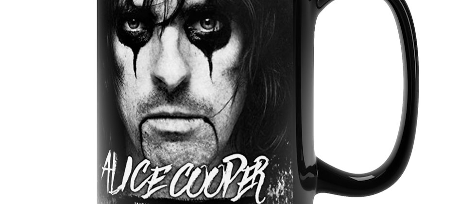 ALICE COOPER Live 1979 Black Mug 15oz